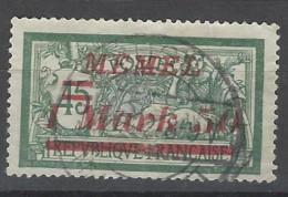 Memel - 1922 - Usato/used - Sovrastampati - Mi N. 66 - Memel (1920-1924)