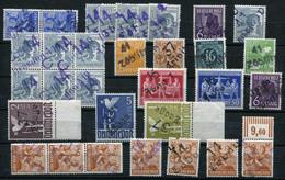 SBZ Dubletten-Lot Gestempelt, Postfrisch, Gefalzt .... (G 6) - Briefmarken