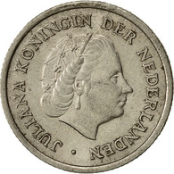Monnaie, Pays-Bas, Juliana, 10 Cents, 1960, TTB, Nickel, KM:182 - [ 3] 1815-… : Kingdom Of The Netherlands