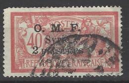 Siria - Occupazione Francese - 1921 - Usato/used - Sovrastampati - Mi N. 164 - Used Stamps
