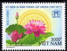 Vietnam - 2017 - 50th Anniversary Of ASEAN Foundation - Mint Stamp - Vietnam