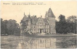 Wespelaer NA1: Château De M. Le Vicomte De Spoelberch. Vue Principale 1921 - Haacht