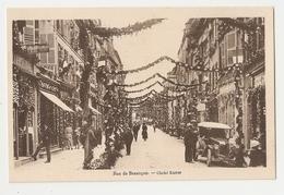39 Dole. Fêtes Du Centenaire De Pasteur. Rue De Besançon. Lot De 4 Cartes (4202) - Dole