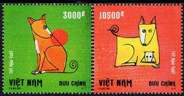 Vietnam - 2017 - Year Of The Dog - Mint Stamp Set - Vietnam