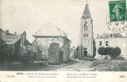 N°62873 -cpa Entrée Du Village De Barcy - Francia