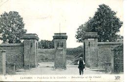 N°62880 -cpa Langres -pont Levis De La Citadelle- - Langres