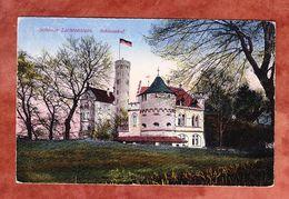 Schloss Liechtenstein, Schlosshof, EF Schnitter, Urach Nach Wanzleben 1923 (53531) - Bad Urach