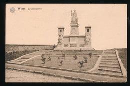 WIERS  -  LE MONUMENT - Péruwelz