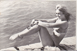 Romania Old Uncirculated Postcard - Movie Stars - Mylene Demongeot - Acteurs