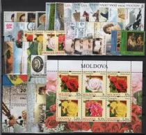 Moldavia 2012 Annata Quasi Completa / Almost Complete Year Set **/MNH VF - Moldavia
