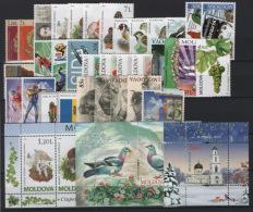 Moldavia 2010 Annata Quasi Completa / Almost Complete Year Set **/MNH VF - Moldavia