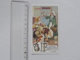 CHROMO Chocolat SUCHARD: La PINTE Série Anciennes Mesures De FRANCE (N° 258) - Capacité Enfant Demoiselle - Suchard