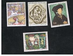 FRANCIA  (FRANCE) - SG 1819.1822  -  1969  FRENCH ART (COMPLET SET OF 4)        - MINT ** - France