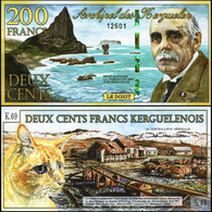 Kerguelen Islands. 200 Francs (Unc. Polymer) 2012. Banknote Cat# P.NL [DLC.BN04969] - Andere