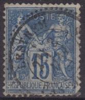 Lestrem (Pas-de-Calais) : Cachet à Date Type 25 Sur Sage. - 1877-1920: Période Semi Moderne