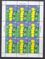 Europa Cept 2000 Macedonia 1v In Sheetlet ** Mnh (39300) FESTIVAL PRICE - Europa-CEPT