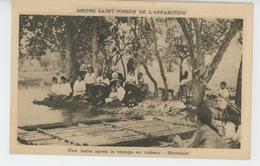 MYANMAR - BIRMANIE - Une Halte Après Le Voyage En Radeau - Mission Des Soeurs Saint Joseph De L'Apparition - Myanmar (Burma)