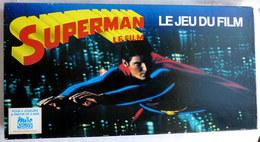 Boite JEU MIRO SUPERMAN LE FILM 1979 Complète - Autres