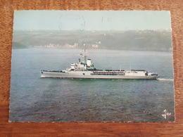 """Brest? Le Porte Hélicoptéres """"Jeanne D'Arc"""" Navire Ecole D'Application - Bateaux"""