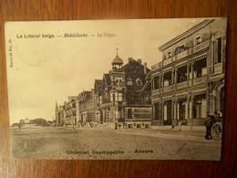 Postkaart   Chocolat Cosmopolite    Le Littoral  Belge  Middelkerke  LA DIGUE - Middelkerke