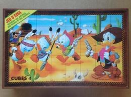 Disney - Jeu De Cubes - Années 80 - Other Collections