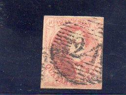 BELGIQUE 1851 O PAPIER EPAIS - 1851-1857 Médaillons (6/8)