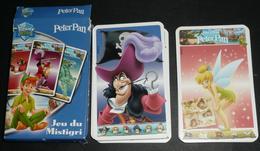 Rare Cartes Jeu De Mistigri, PETER PAN, Walt Disney, Pouilleux Pierre Noir - Jeux De Société