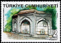Turkey - 2018 - Historical Fountains - Sultan Suleyman - Mint Stamp - 1921-... République