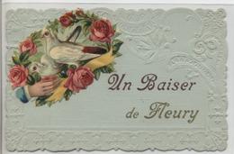 89 - FLEURY LA VALLEE - Un Baiser. - Autres Communes