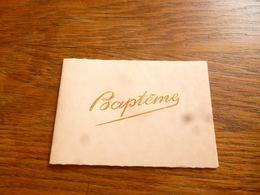 BC11-109 Souvenir Baptême Ligny 1952 - Birth & Baptism