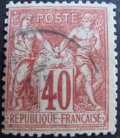 LOT R1749/211 - SAGE TYPE I N°70 - CàD - Cote : 35,00 € - 1876-1878 Sage (Type I)