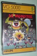 """Rare Ancien Jeu électronique Pour Console PHILIPS VG 5000 """"Le Monstre"""" """" Space Monster"""" , Cassette Programme - Jeux électroniques"""