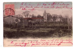 1912 - Sauterne , Près Langon - Chateau Guiraud - N°1169 - Henri Guiller éd. - - Vignes
