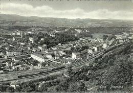 Ceva (Cuneo) Panorama E Linea E Scalo Ferroviario - Cuneo