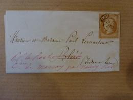 Belle Obliteration De De Blois Cachet Sur Timbre N°13 SUR LAC - 1849-1876: Période Classique