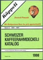 Catalogue D Opercules De Crème Kappeli 1998 (band 2) De 1994 A 1997 - 884 Pages, Poids 1,3 Kg - Voir Scan (4 Scan) - Milk Tops (Milk Lids)