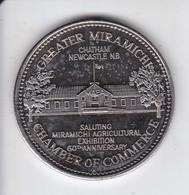 MONEDA DE CANADA DE 1 DOLLAR DEL AÑO 1983 (COIN) GREATER MIRAMICHI - CHAMBRE OF COMMERCE - Canada