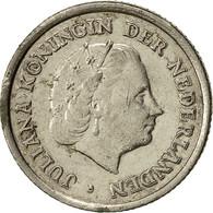 Monnaie, Pays-Bas, Juliana, 10 Cents, 1965, TTB, Nickel, KM:182 - [ 3] 1815-… : Kingdom Of The Netherlands
