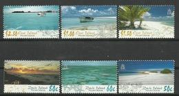 PITCAIRN ISLANDS  2005 ISLAND SCENERY,OENO& DUCIE ISLANDS, SET MNH - Briefmarken