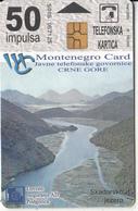 MONTENEGRO - Skadarsko Jezero, Bokokotorski Zaliv, First Issue 50 Unts, CN : 5005, Tirage 10000, 03/00, Used - Montenegro