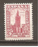 España/Spain-(MNH/**) - Edifil  807 - Yvert 571 - 1931-50 Nuevos & Fijasellos