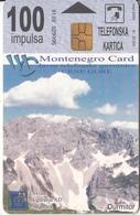 MONTENEGRO - Skadarsko Jezero, Bokokotorski Zaliv, First Issue 100 Unts, Tirage 30000, 03/00, Used - Montenegro