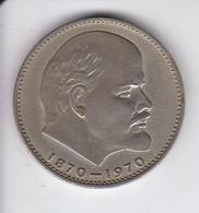 MONEDA DE RUSIA DE 1 RUBLO DEL AÑO 1970 (COIN) LENIN - Rusia