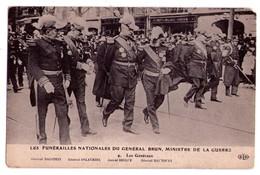 1917- Les Funérailles Nationales Du Général Brun, Ministre De La Guerre - E.L.D. - N°9 - Les Généraux - - Funeral