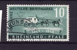 RHEINLAND 1949 N 48 Obli AC59 - Zone Française