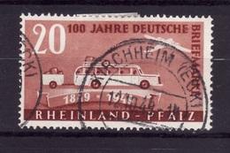 RHEINLAND 1949 N 49 Obli AC60 - Zone Française