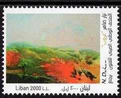 Lebanon - 2018 - Modern Art - Nizar Daher - Dhouroub - Mint Stamp - Liban