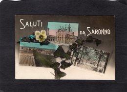 77808    Italia,    Saluti  Da  Saronno,  VG  1911 - Varese