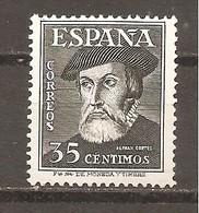 España/Spain-(MNH/**) - Edifil  1035 - Yvert 777 - 1931-50 Neufs