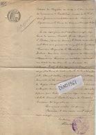 VP12.551 - BUSSIERES 1920 - Généalogie -  Extrait Acte De Décès De Mr MAYEUR Né à BOITRON - Manuscripts